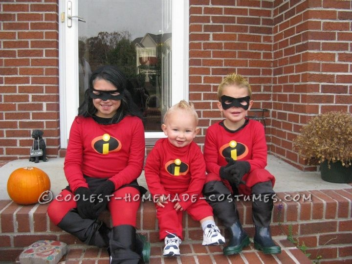 Awesome The Incredibles Family Costume - 1