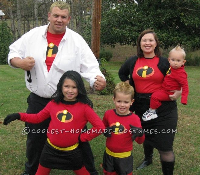 Awesome The Incredibles Family Costume