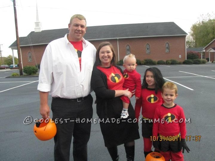 Awesome The Incredibles Family Costume - 3