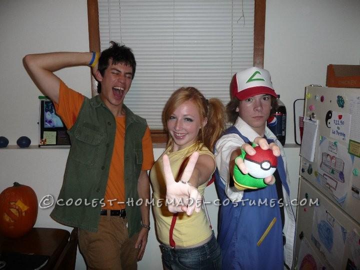 The Perfect Original Pokemon Trio Group Costume!