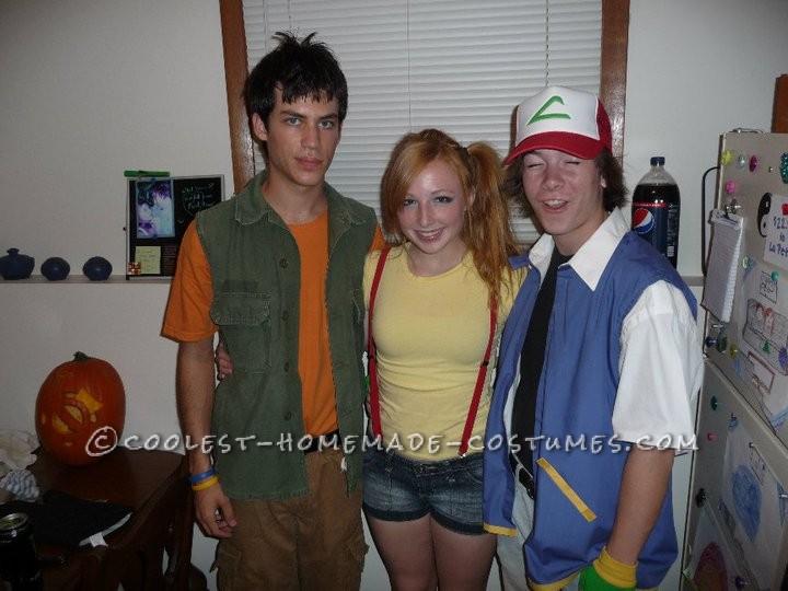 The Perfect Original Pokemon Trio Group Costume! - 2