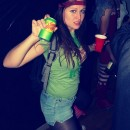 This was my costume last year and I\\\'m not entirely sure if I can top the excitment in 2012! Sundrop is a newer soda that tastes sort of like M