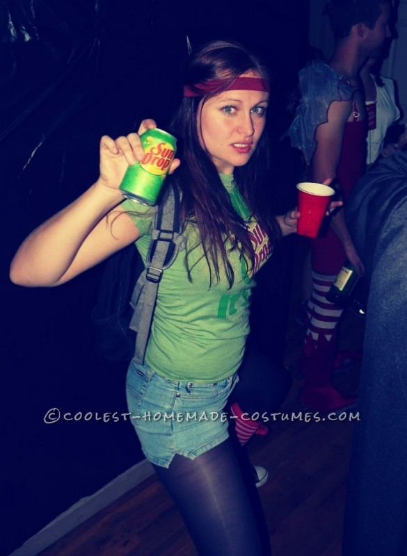 My Sundrop girl's only candid but it sums up this perfect night and perfect COSTUME!