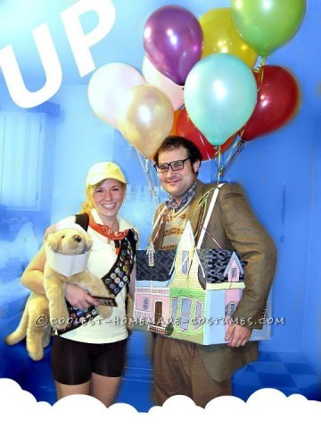 The Coolest Up House Couple Costume
