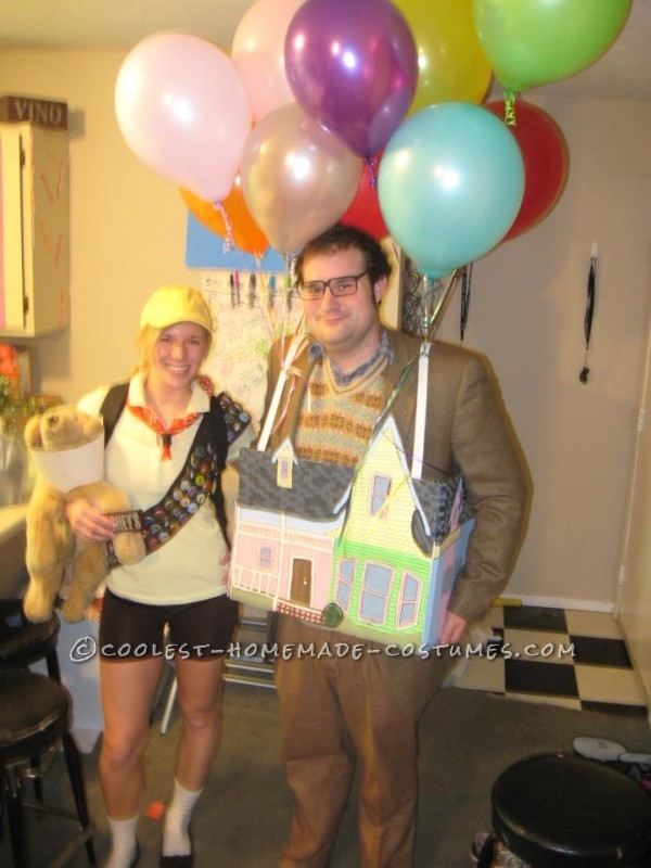 The Coolest Up House Couple Costume - 1