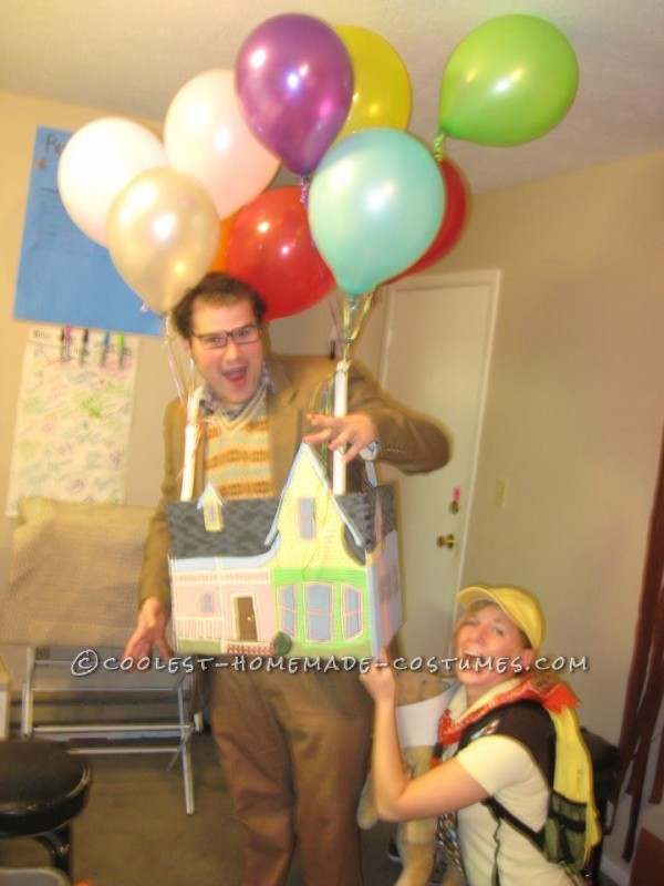 The Coolest Up House Couple Costume - 2