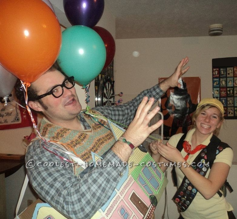 The Coolest Up House Couple Costume - 3