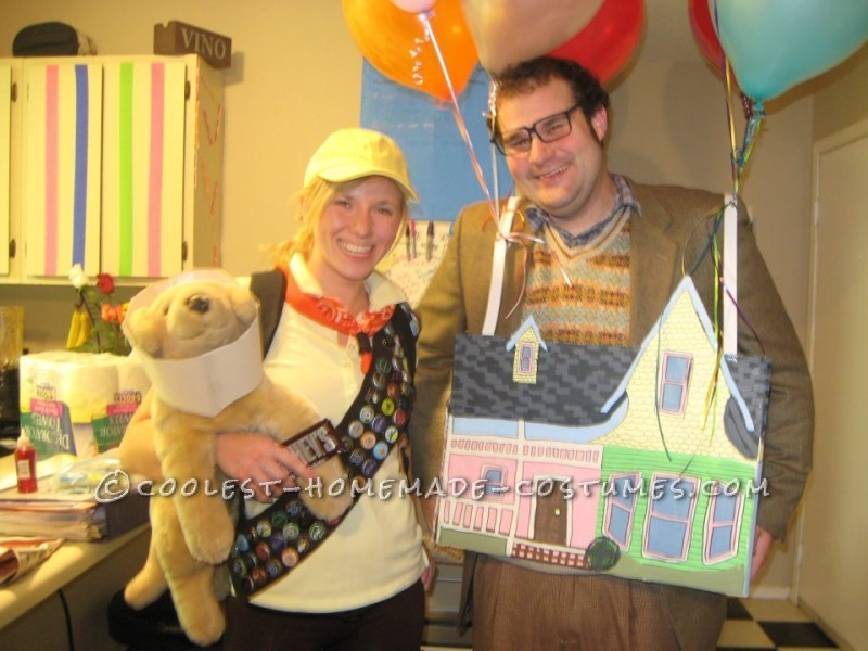 The Coolest Up House Couple Costume - 4