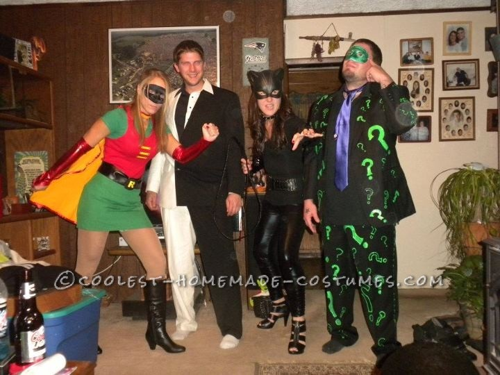 The Villians from Batman Group Costume