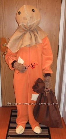 This is a costume I made for Halloween last year. Sam, from my favourite Halloween movie: Trick 'r Treat. I made the body of the costume using
