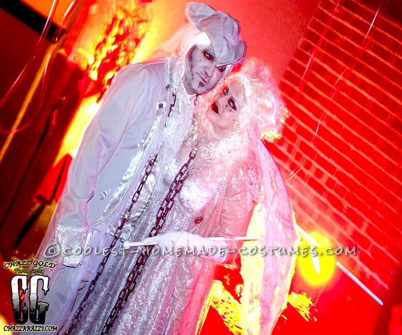 Wickedly Elegant Ghost Costume - 1