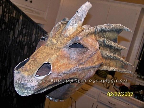 Original Homemade Winged Dragon Halloween Costume - 5