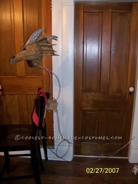 Original Homemade Winged Dragon Halloween Costume - 6