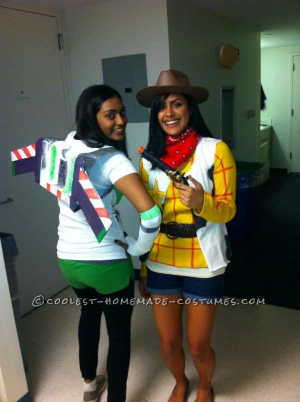 Coolest Woody and Buzz Costumes (College Edition) - 1