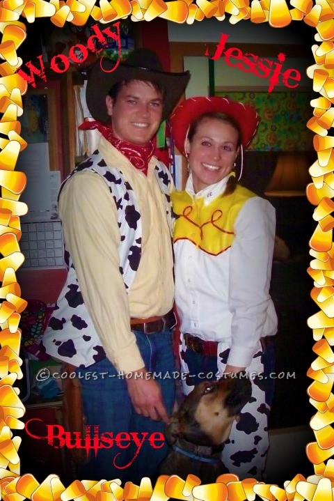 Woody and Jessie with Bullseye