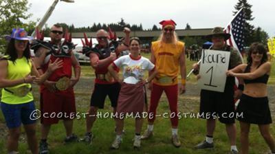 Royal Rumble Team Costume