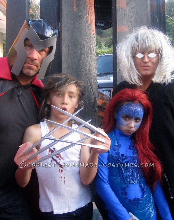 X-Men Family Takes on Halloween with an Awesome Family Costume