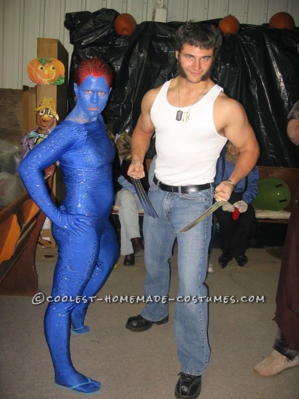 X- Men Costumes: Wolverine and Mystique - 2