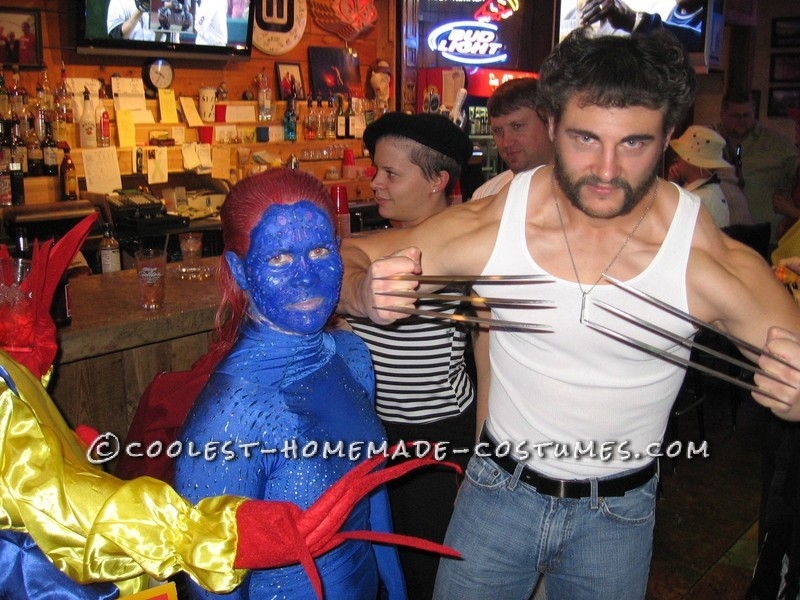 X- Men Costumes: Wolverine and Mystique - 3