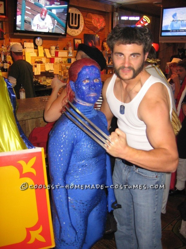 X- Men Costumes: Wolverine and Mystique - 4