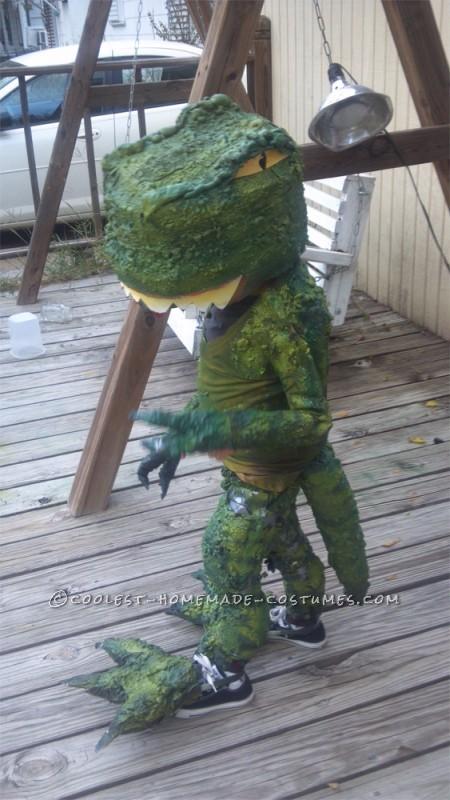 Make the Coolest Homemade Dinosaur Costume