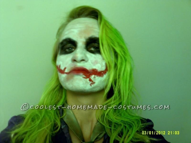Joker Face and Hair