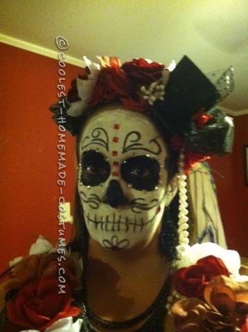 Spooky Dia De Los Muertos Couple Costume