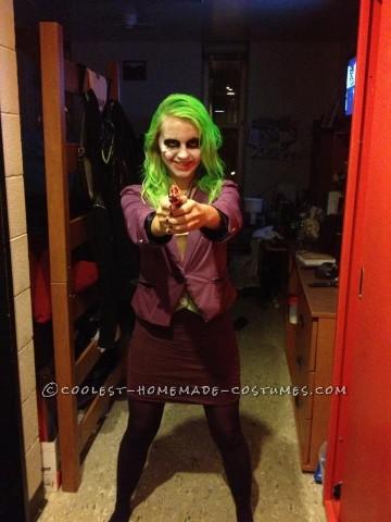 Coolest Homemade Joker Halloween Costume