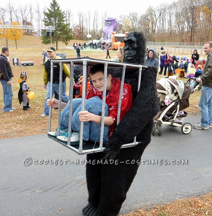 This is my son Thomas Firestone. He is 14 years old and lives in Maple Grove Minnesota. Last year just after Halloween we were talking about how bori