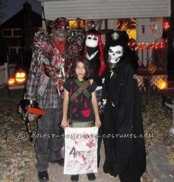 my family we love halloween