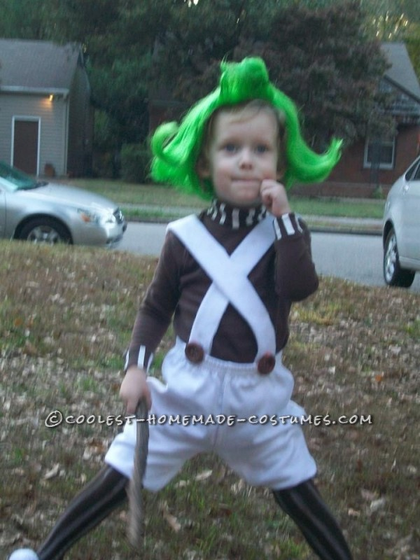 oompa loompa (stick is not part of the costume)
