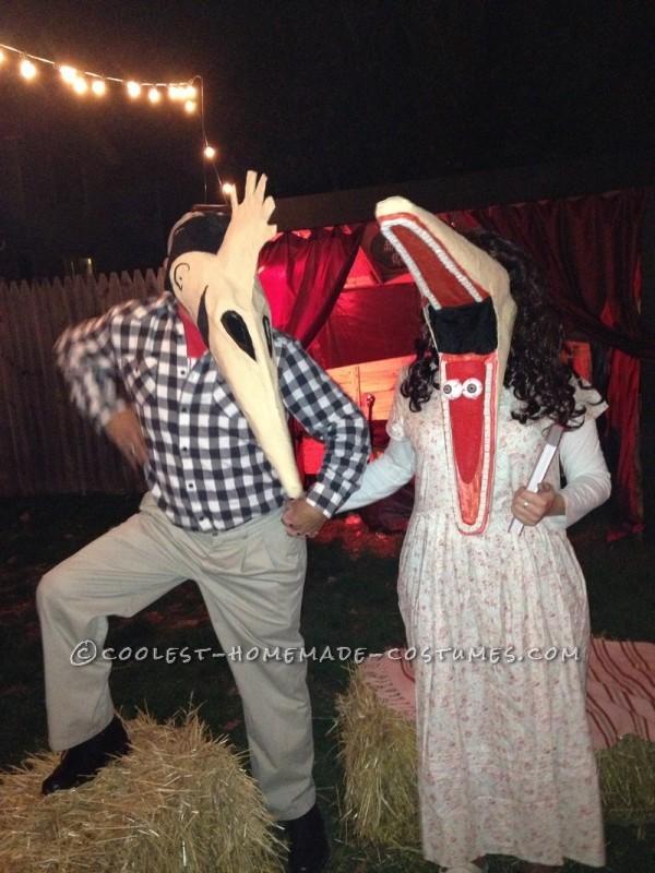 Coolest Adam And Barbara Maitland Couple Halloween Costume