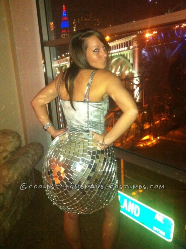 Unique Homemade Adult Disco Ball Costume