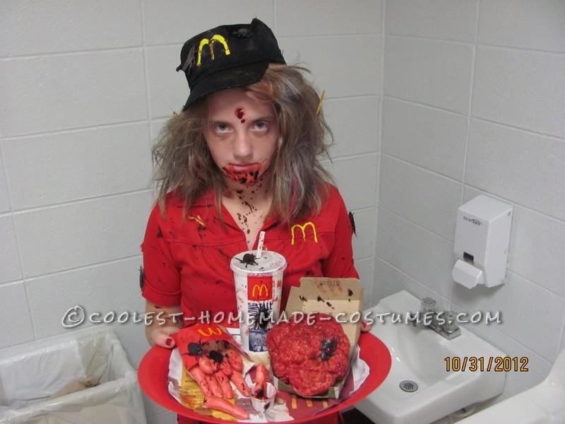 McDonald's Zombie Worker