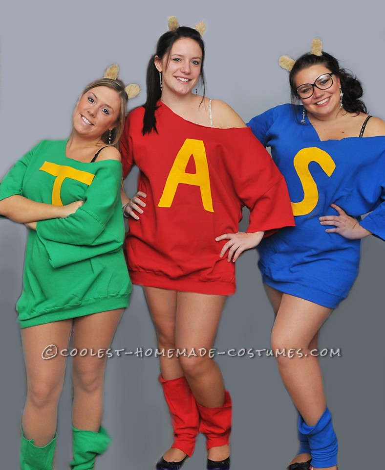 Alvin and the Chipmunks Group Costume for Under $20