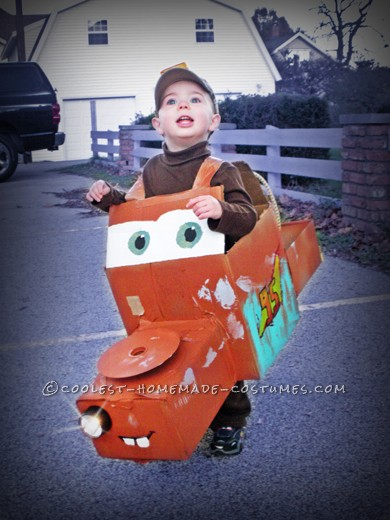 Amazing Homemade 3D Mater Costume