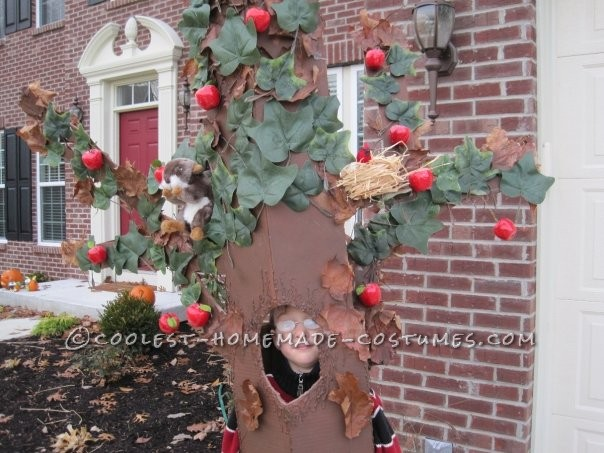 Coolest Apple Tree Child Costume Idea - 1