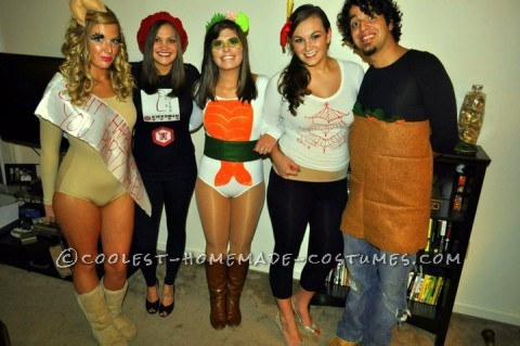 Asian Persuasion Group Halloween Costume