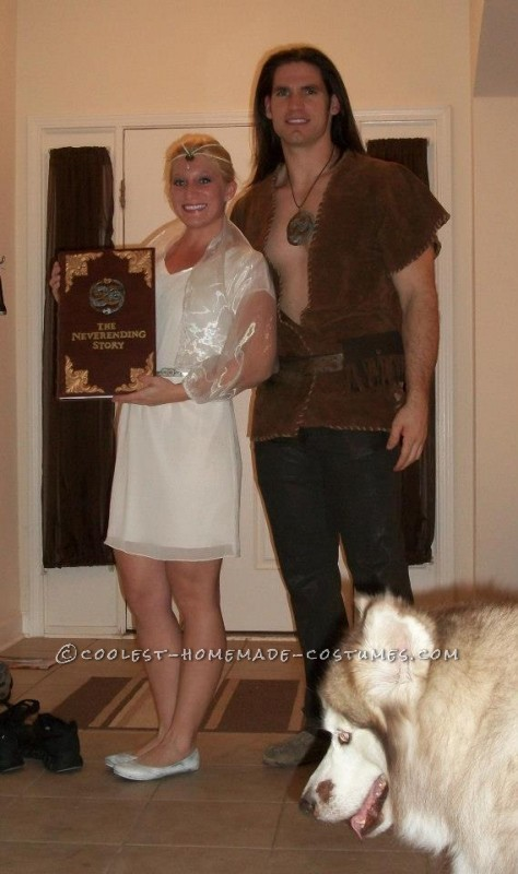 Atreyu and Childlike Empress Couple Costume from The Neverending Story