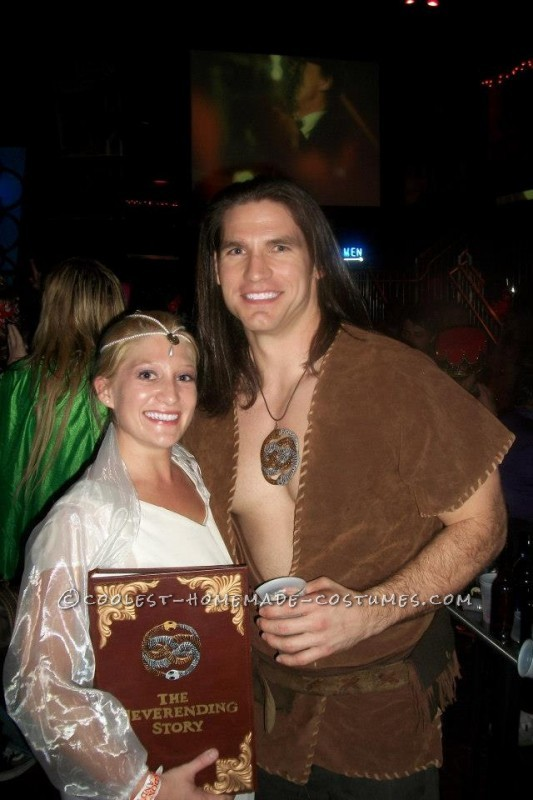 Atreyu and Childlike Empress Couple Costume from The Neverending Story - 1