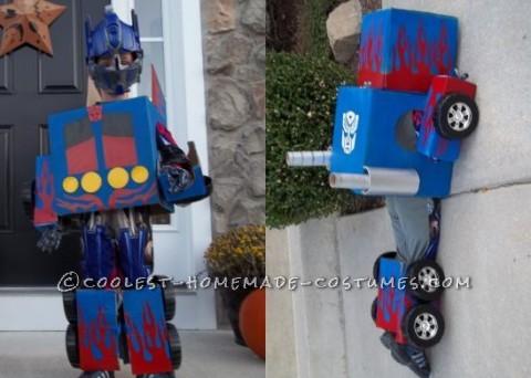 Creative Transformers Costume
