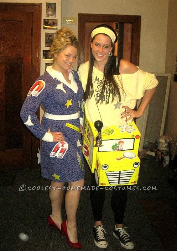 Fun Magic School Bus and Ms. Frizzle Halloween Costume - 4