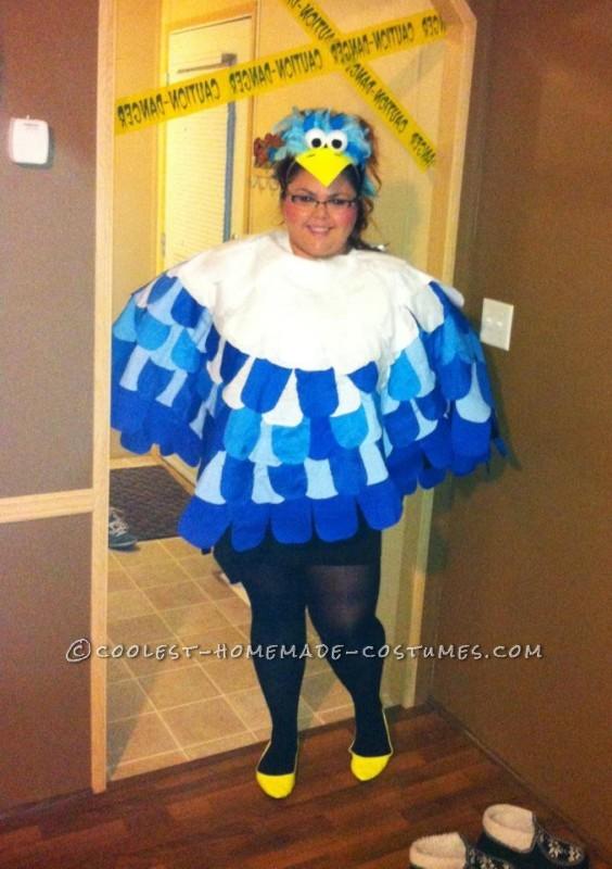 Awesome Blue Bird Halloween Costume