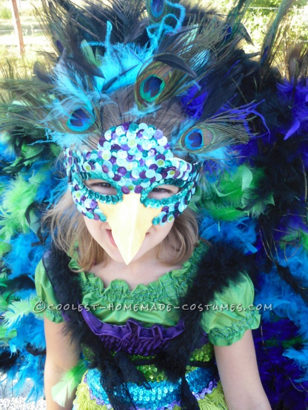 Awesome Homemade Peacock Costume - 2