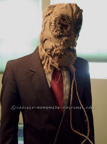 Original Homemade Costume from Batman Begins: Scarecrow