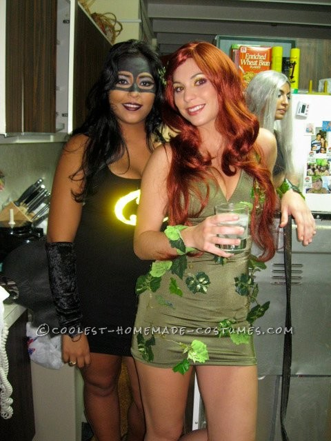 Coolest Batman, Catwoman and Poison Ivy Girl Group Costume - 1