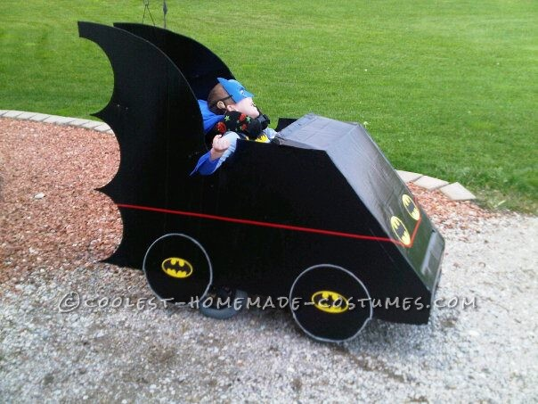 Awesome Batmobile Wheelchair Costume!