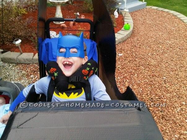 Awesome Batmobile Wheelchair Costume! - 2