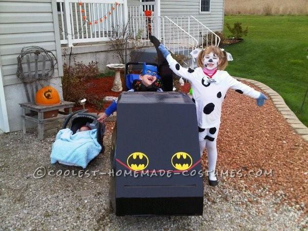Awesome Batmobile Wheelchair Costume! - 1