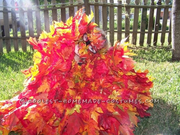 Beautiful Pile of Fall Leaves Costume - 1